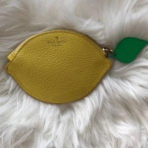 Kate Spade Via Limoni Lemon Coin Purse, Limoncello